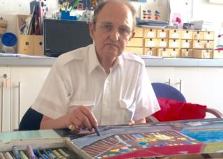 John Jones says the service has helped him rediscover his love for art