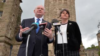 Martin McGuinness and Arlene Foster