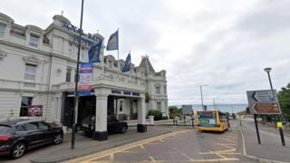 Royal Bath Hotel in Bournemouth