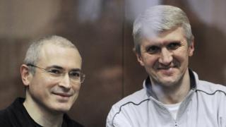 Михаил Ходорковский и Платон Лебедев