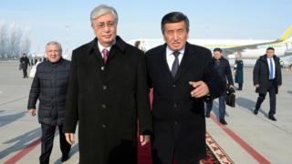 Казакстандын президенти Касым-Жомарт Токаев