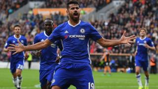 Chelsea player Diego Costa