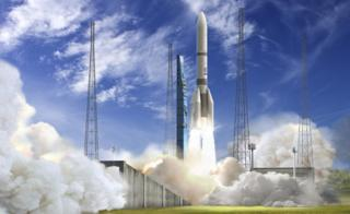 Artwork: Ariane 6