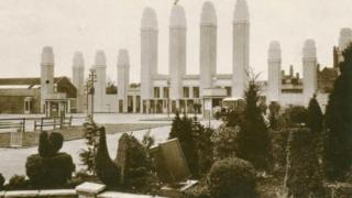 Entrance to 1929 exhibition