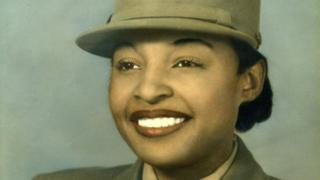 Mille Dunn Veasey in uniform