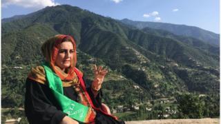 Election candidate Hameeda Shahid
