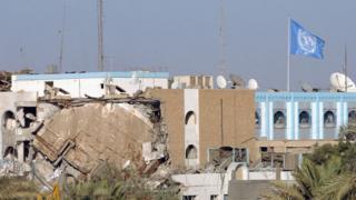 Заркави стоял за взрывом представительства ООН в Багдаде