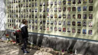 молебень за загиблими військовими