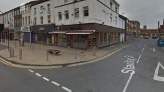 Stanley Street near the Wicker in Sheffield