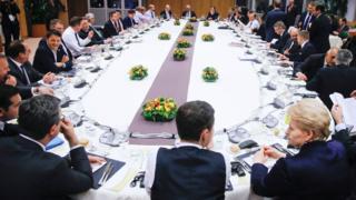 Meeting of EU leaders