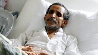 пациент в больнице Йемена