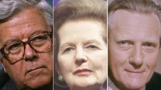 Geoffrey Howe, Magaret Thatcher and Michael Heseltine