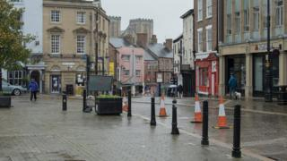 Market Place East in Ripon