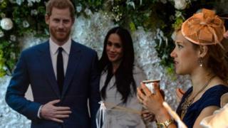 Свадьба принца Гарри и Меган Маркл - вечеринка