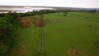 Pylons in Duddon Valley