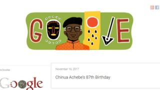 Chinua Achebe doodle