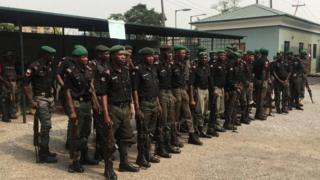 Some Nigeria police officers