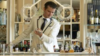 Erik Lorincz is head bartender at the American Bar in London