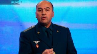 Подполковник Дилшод Акрамов