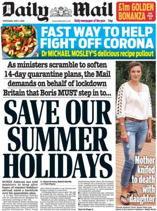 Daily Mail 3 june
