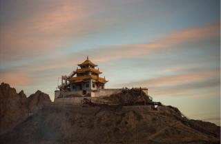 Будданын храмы, Лех шаарынын чет жакасындагы Харнак Линг кыштагы