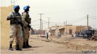 Wanajeshi wa Umoja wa Mataifa nchini Mali