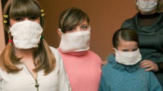 Діти грип