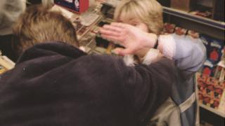 Shop worker attacked