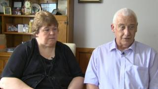 David Bryant and his wife Lynn