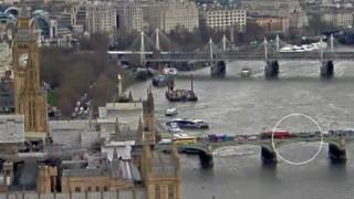 Puente de Westminster de Londres
