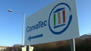 ConvaTec sign