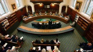 Supreme Court in London