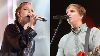 Jess Glynne and George Ezra