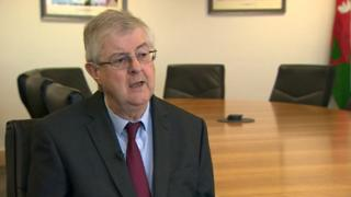 First Minister Mark Drakeford