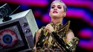 Katy Perry on tour