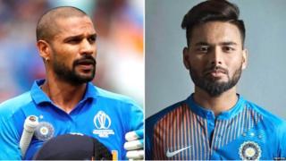 शिखर धवन, ऋषभ पंत, भारत, वर्ल्ड कप 2019