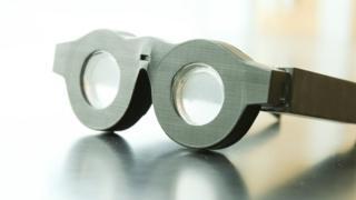 Gafas inteligentes creadas en la Escuela de Ingeniería de la Universidad de Utah.
