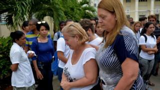 Haati Grettel Landrover, Amparo Font (C) hospitaala Haavaanaa alatti BBC'f yaada laatte