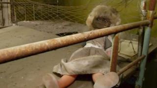 Кукла, брошенная в Припяти