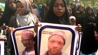 Hundreds of Shia don begin protest again for Abuja