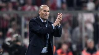 Akọ́nimọ̀ọ́gbá ikò Real Madrid Zinedine Zidane
