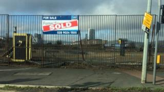 The Sirocco site in east Belfast