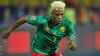 Clinton Njie a marqué un but à la CAN 2019.