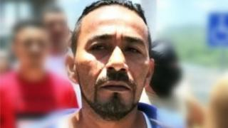 Picture of Alexander Mendoza released by Honduran police