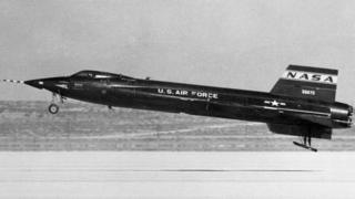 This Nasa X-15 rocket plane