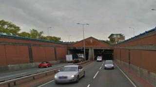 Meir tunnel on A50