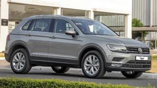 A Volkswagen Tiguan
