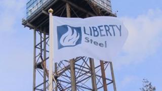 Liberty Steel flag