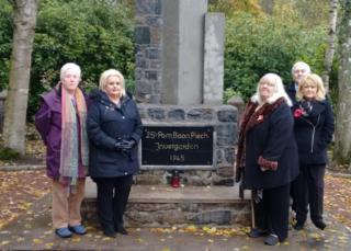 Polish Memorial in Invergordon