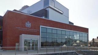 Caernarfon Criminal Justice centre